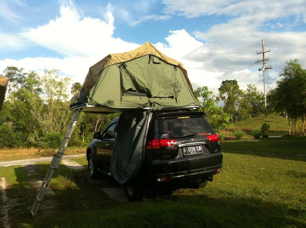 Setting Up Roof Tent On Pajero Sport Yd 216 Nxx S Blog